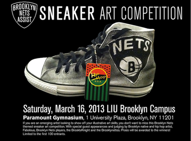 Brooklyn Nets & Fabolous Sneaker Competition
