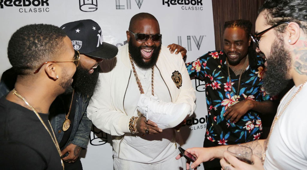 Rick Ross White Party 2