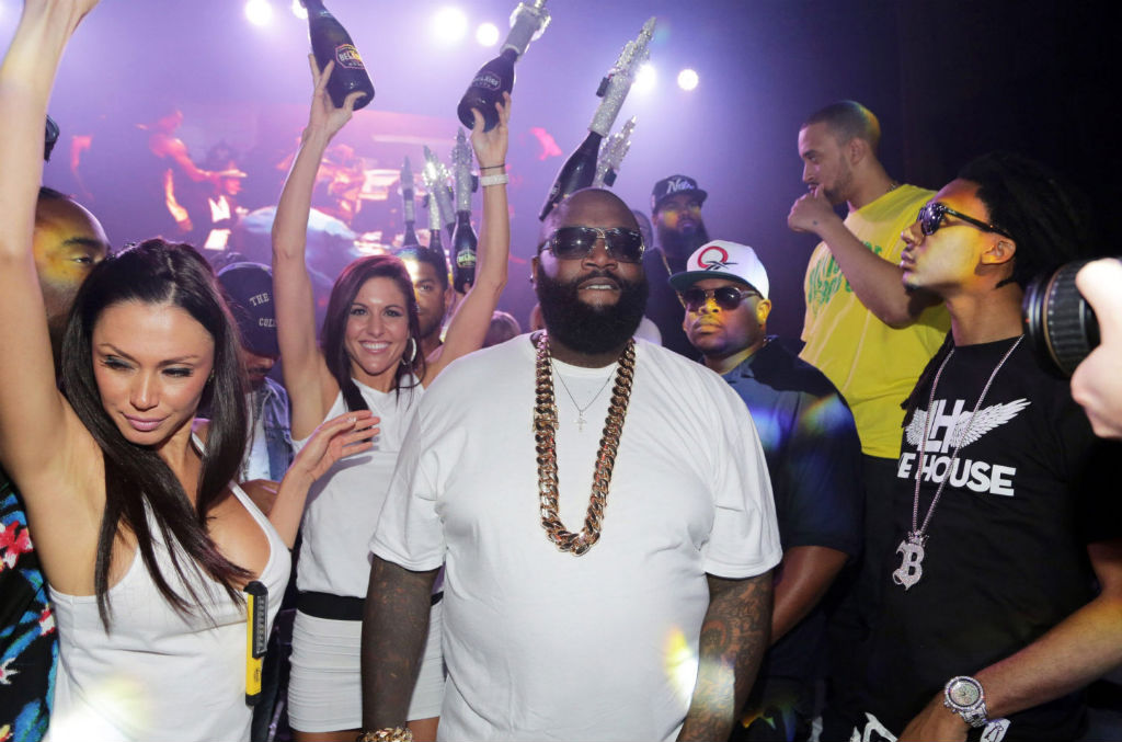 Rick Ross White Party 5