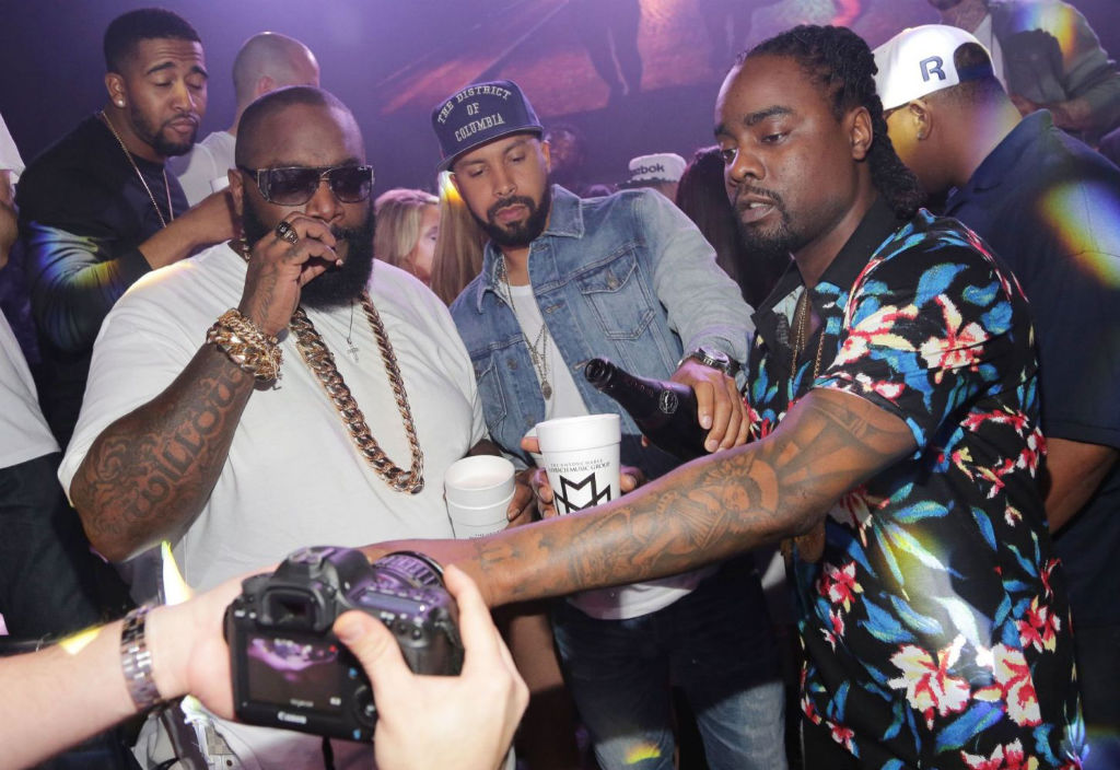 Rick Ross White Party 7
