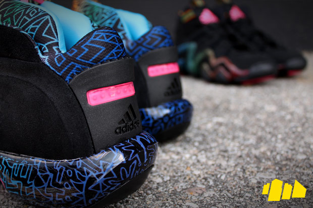 "adidas Crazy 1 Crazy 8 Black/Solar Pink ""Pop Art"" Pack"