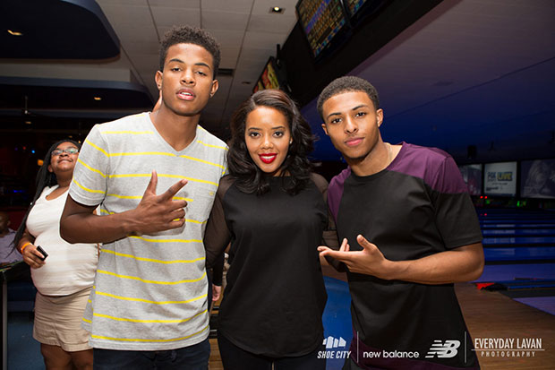 Diggy Simmons Trevor Jackson Bowling Party