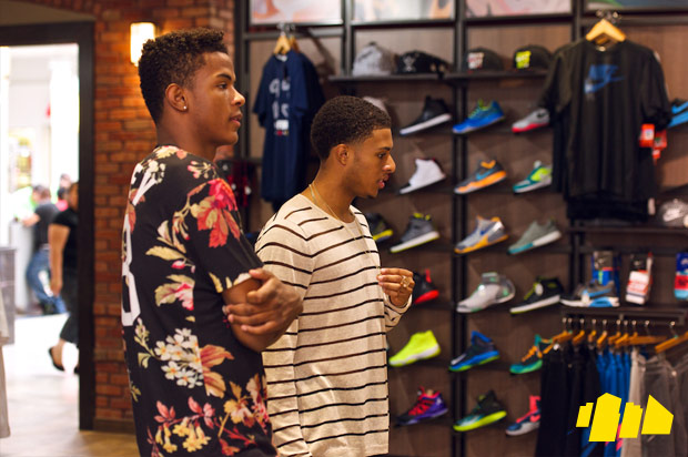 Diggy Simmons Trevor Jackson In-Store Shoe City