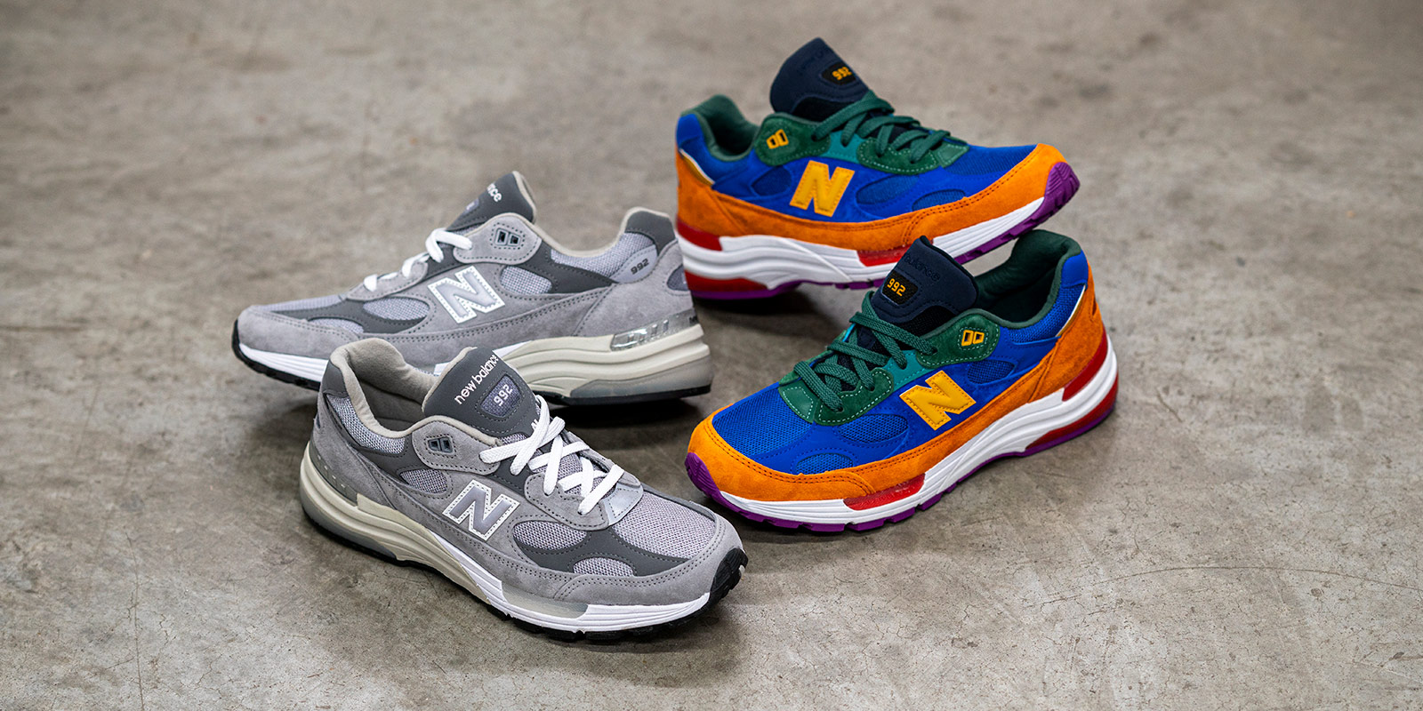 New Balance Adds To The 992 Lineup